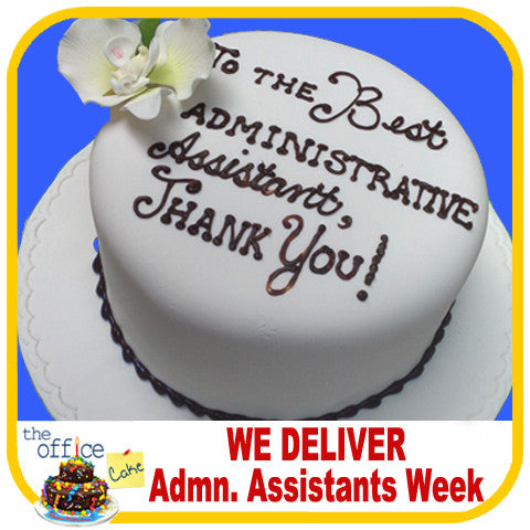 Admin. Assistant Cake - The Office Cake Delivery Miami - Cakes