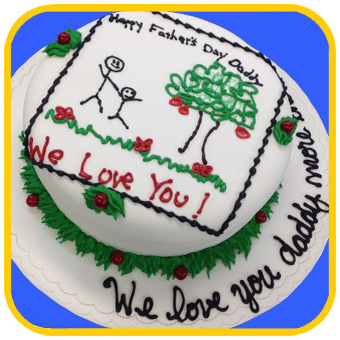 Doodle Cake - The Office Cake Delivery Miami - Cakes