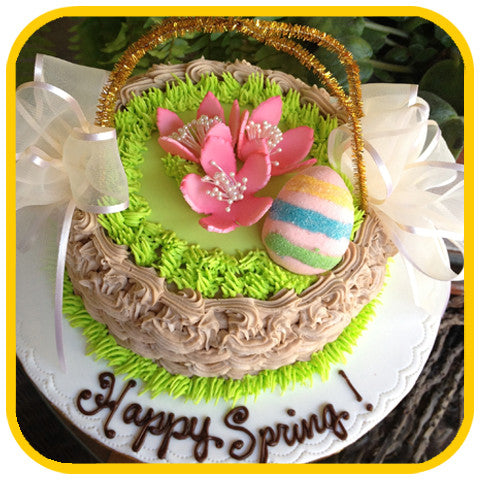 Easter Basket - The Office Cake Delivery Miami - Cakes