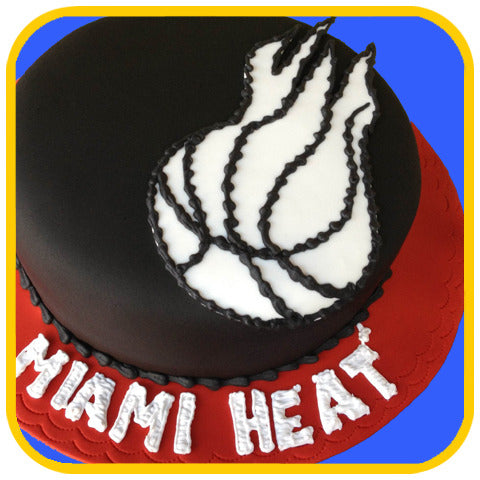 Heat Cake - The Office Cake Delivery Miami - Cake w/ Upsell