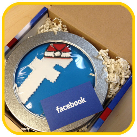 Mailable FB Santa Hat - The Office Cake Delivery Miami - Cakes