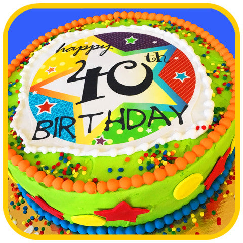 Cool 40Th Birthday Cake The Office Cake Funny Birthday Cards Online Fluifree Goldxyz