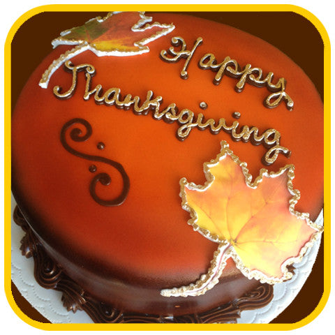 Thanksgiving Dessert - The Office Cake Delivery Miami - Cakes