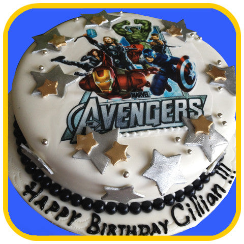 Avengers Cake - The Office Cake Delivery Miami - Cakes