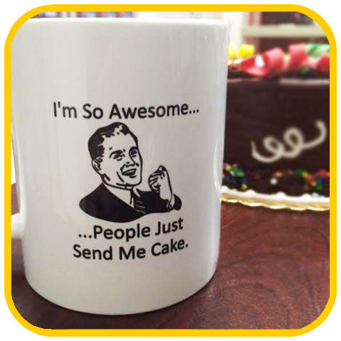 Awesome Cup - The Office Cake Delivery Miami - cup
