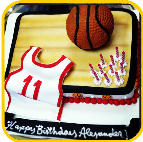 Hoops - The Office Cake Delivery Miami - Cake w/ Upsell