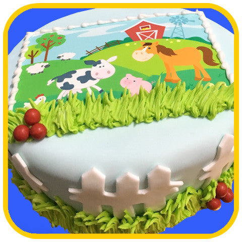 Farm Life Cake - The Office Cake Delivery Miami - Cakes