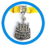 Greeting Card with Alloy Charm Keepsake