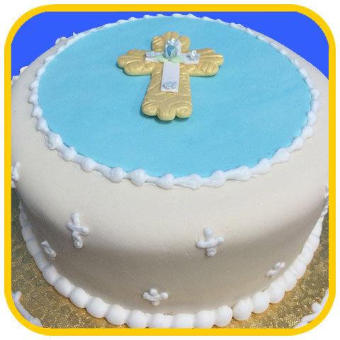 Cross Blue - The Office Cake Delivery Miami - Cakes
