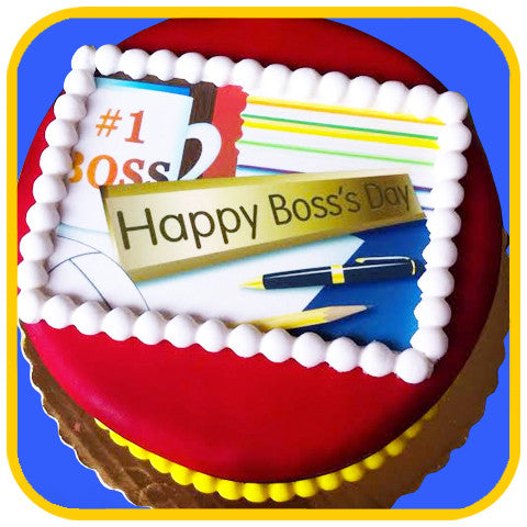 Boss's Day Cake - The Office Cake Delivery Miami - Cakes