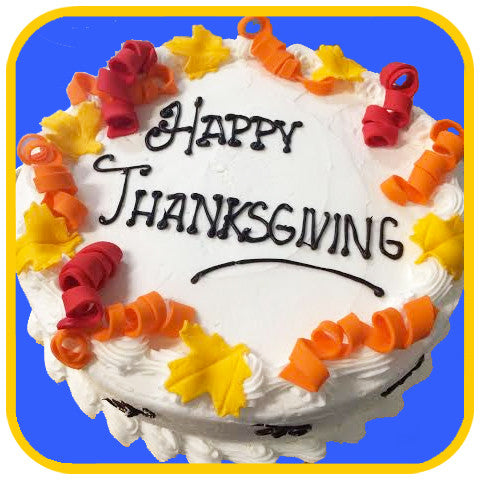 Happy Thanksgiving Buttercream - The Office Cake Delivery Miami - Cakes