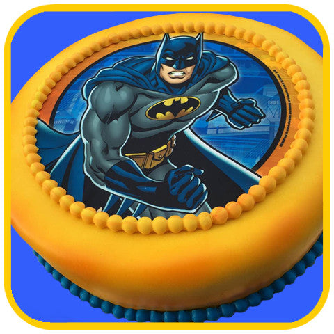 Batman Comics Cake