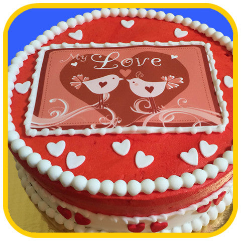 Love Birds - The Office Cake Delivery Miami - Cakes