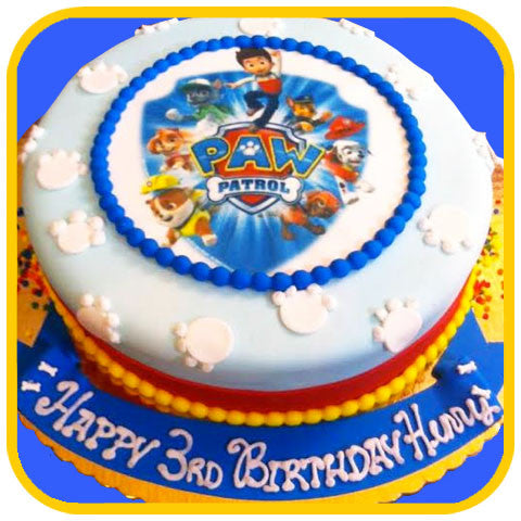 Paw Patrol Cake - The Office Cake Delivery Miami - Cakes