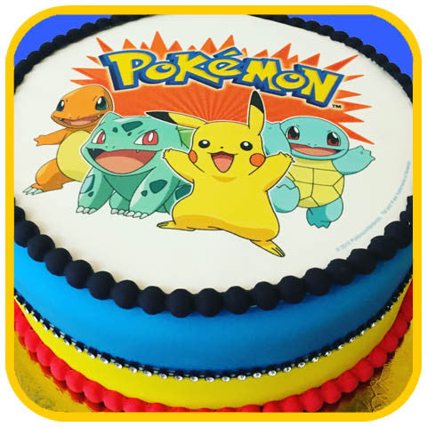 Pokemon Cake Online Delivery The Office Cake
