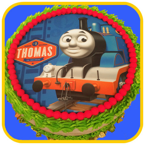 Thomas the Train Cake - The Office Cake Delivery Miami - Cakes