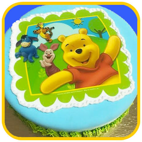 Winne the Pooh - The Office Cake Delivery Miami - Cakes