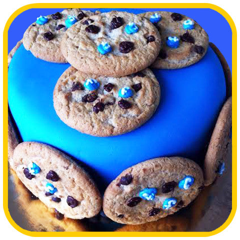 Facebook Chocolate Chip - The Office Cake Delivery Miami - Cakes