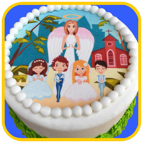 Communion Children - The Office Cake Delivery Miami - Cakes