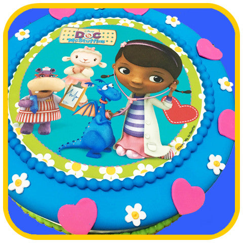 Doc McStuffins Cake - The Office Cake Delivery Miami - Cakes