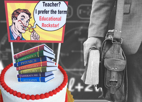 Educational Rockstar Cake
