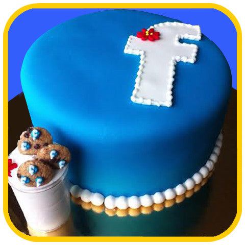 Santas FB Cookies - The Office Cake Delivery Miami - Cakes