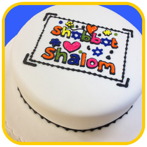 Happy Shabbat - The Office Cake Delivery Miami - Cakes