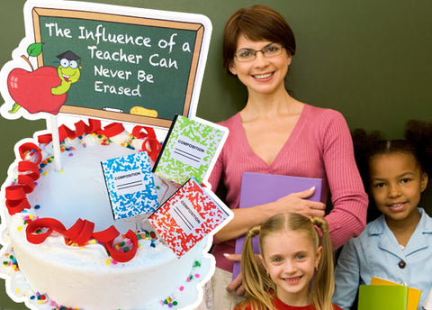 Teachers Influence Cake