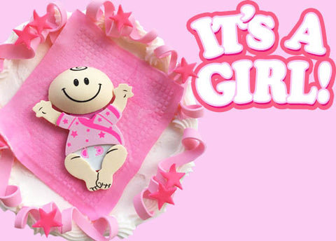 It's A Girl Cake