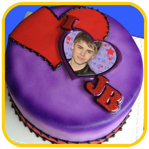 Justin Bieber Cake - The Office Cake Delivery Miami - Cakes