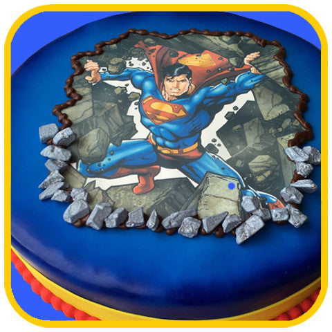 The Superman Cake