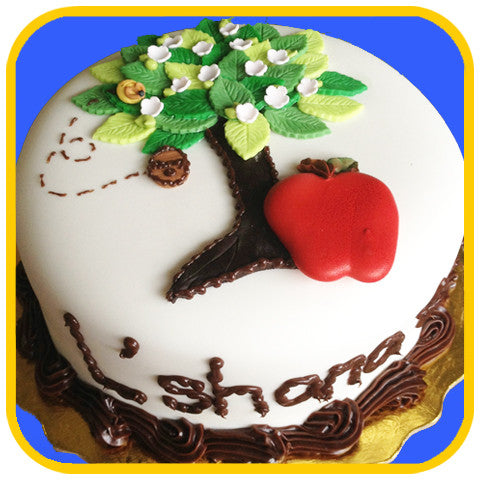 L' shana tova Tree - The Office Cake Delivery Miami - Cakes