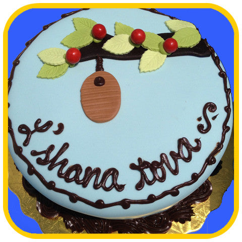 L' shana tova Branch - The Office Cake Delivery Miami - Cakes