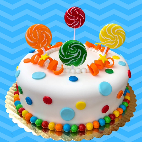 Swell Lollipop Cake The Office Cake Birthday Cards Printable Inklcafe Filternl