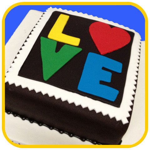 LOVE - The Office Cake Delivery Miami - Cakes