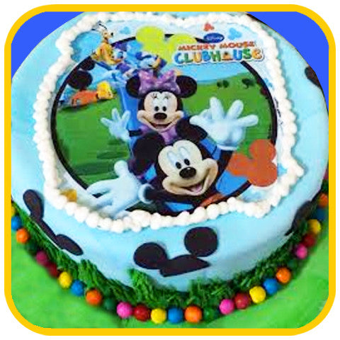 Mickey Mouse - The Office Cake Delivery Miami - Cakes