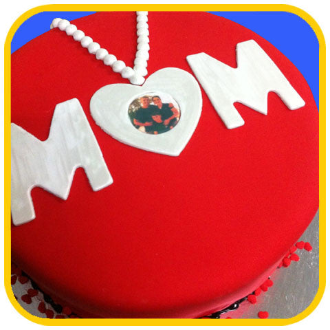 Mom's Locket - The Office Cake Delivery Miami - Cakes
