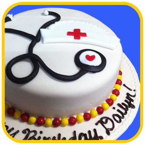 Nurses Rule - The Office Cake Delivery Miami - Cakes