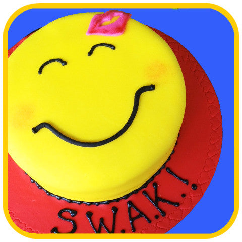 S.W.A.K. - The Office Cake Delivery Miami - Cakes