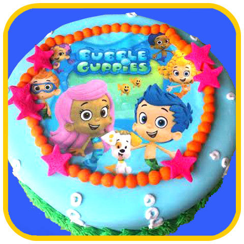 Bubble Guppies - The Office Cake Delivery Miami - Cakes