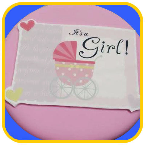 It's a Girl - The Office Cake Delivery Miami - Cakes