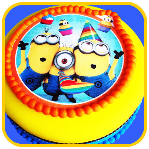Minion Cake - The Office Cake Delivery Miami - Cakes
