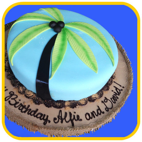 Palm Tree - The Office Cake Delivery Miami - Cakes