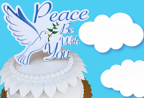 Peace be with you Cake