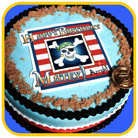 Pirate Cake - The Office Cake Delivery Miami - Cakes