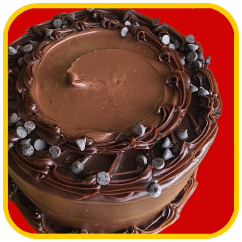 Double Chocolate-Nutella Cake - The Office Cake Delivery Miami - Cakes