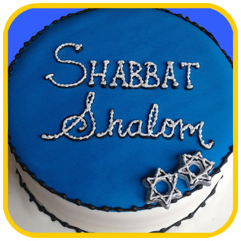Shabbat Shalom - The Office Cake Delivery Miami - Cakes