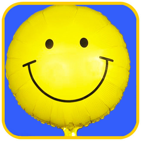 Happy Face Balloon - The Office Cake Delivery Miami - Balloons