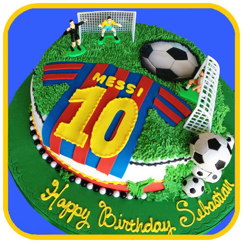 Soccer Cake - The Office Cake Delivery Miami - Cakes