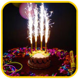 Sparkler Candle - The Office Cake Delivery Miami - Cakes - 1